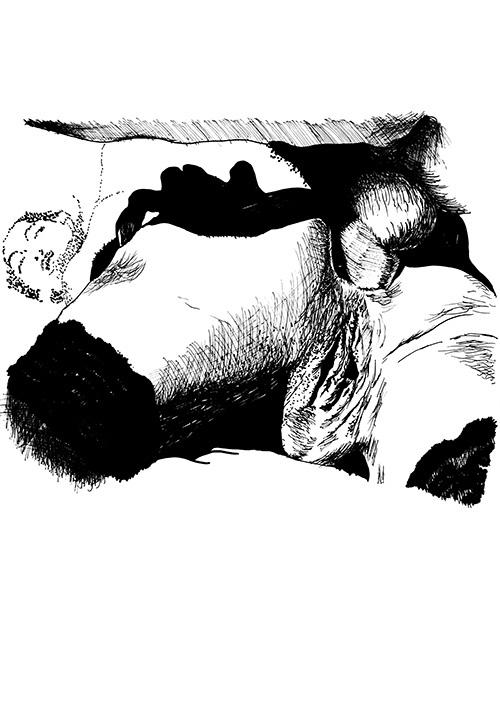 28 Dessins de cul # 4 par Julien Lauber