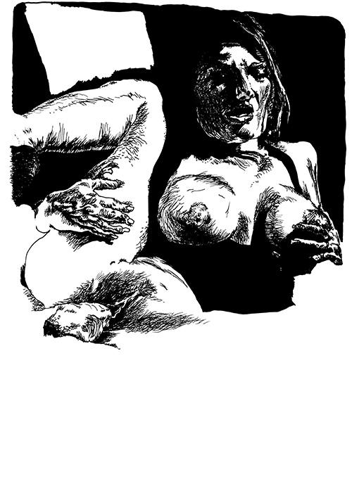 28 Dessins de cul # 6 par Julien Lauber