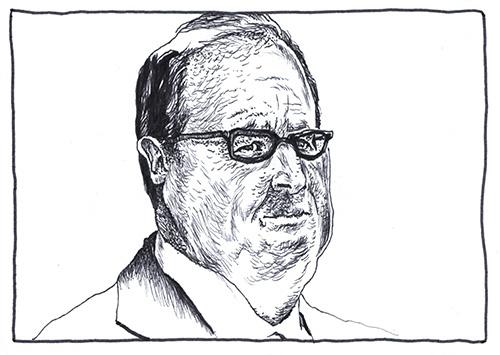De Gauche # 1 : François Hollande par Julien Lauber