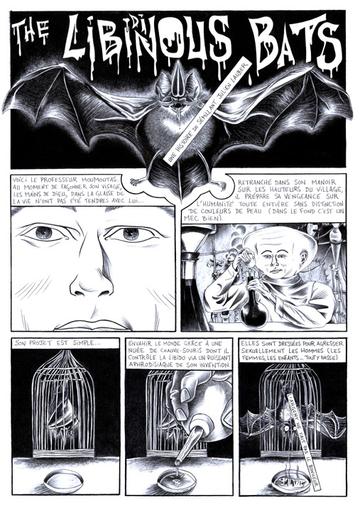 The Libidinous Bats - planche 1 par Julien Lauber