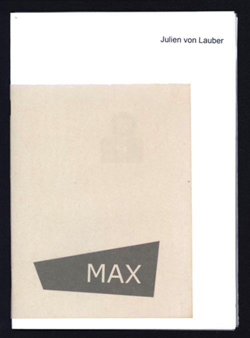 Max - couverture par Julien von Lauber