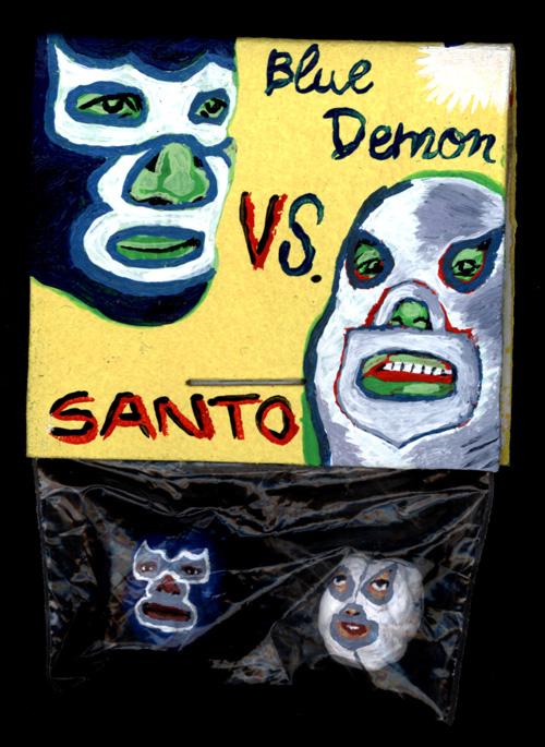 Blue Demon Versus Santo par Julien Lauber