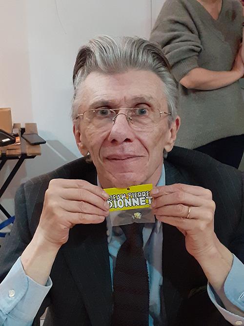 Jean-Pierre Dionnet par Julien Lauber