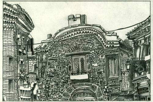 Depuis un Banc : Carcassonne # 3 par Julien Lauber