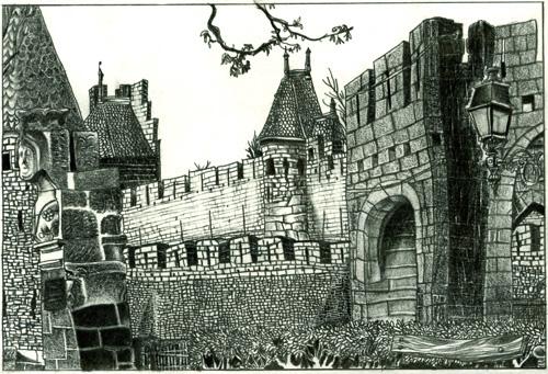 Depuis un Banc : Carcassonne # 4 par Julien Lauber